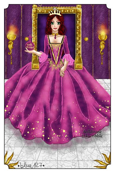 The Queen of Divinity ~ A little gift for Ola. A thank you for c