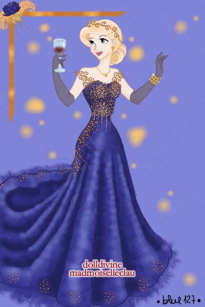 Sparkling Midnight Couture ~ I am attending @Amerylis' Birthday bal
