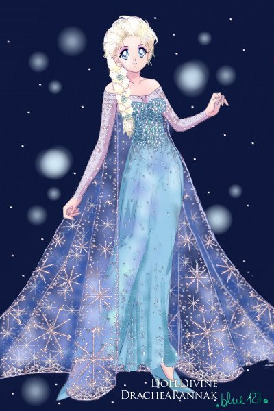 The Snow Queen ~ Yeah, I did it again.....