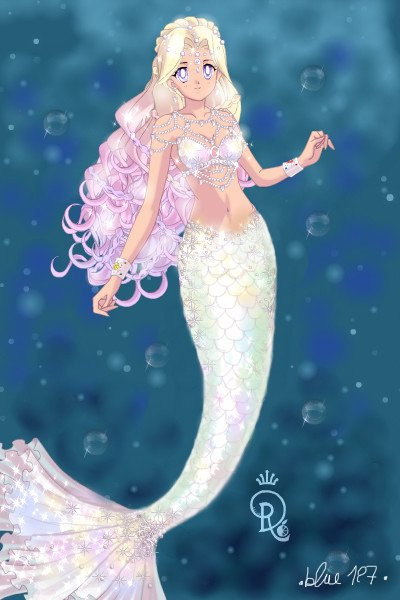 Moonstone Mermaid ~ Look who finally got around to make an i