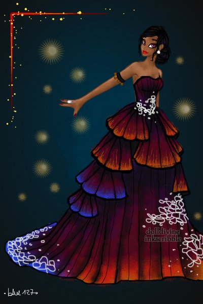Lightning Maroon Clownfish Couture ~ I am pretty damn proud of this! ^^
