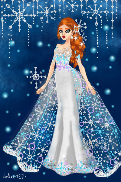 DDNTM: Sarah Nell – Snowflakes! ~ My first doll for 5th cycle of the Urban