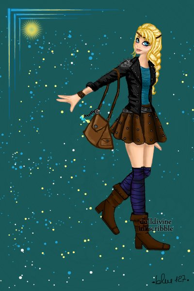 Modern Astrid ~ A modern version of Astrid from How to t