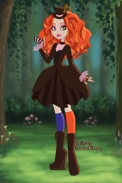 the mad hatter daughter ~ I love this character and I also love Jo