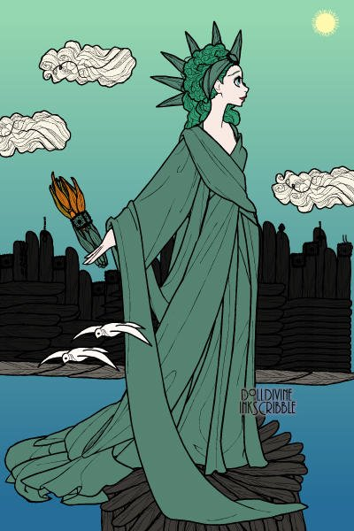 The Statue of Liberty ~