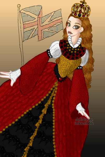 Young Queen Elizabeth I (1558-1603) ~