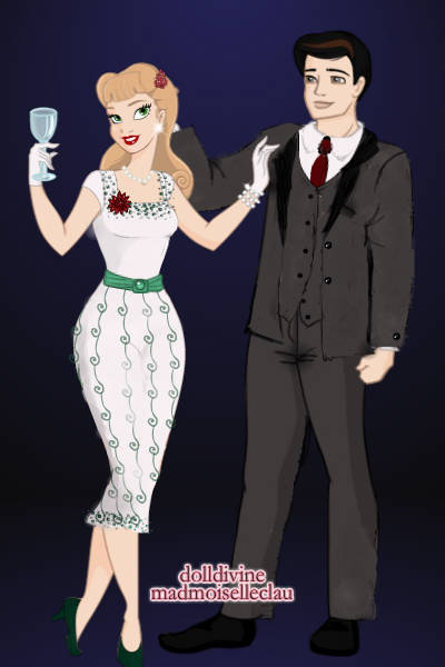Classy 50s Couple ~ This suit...took<i> forever.</i> x.x