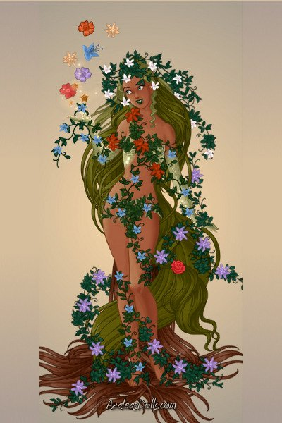 Azalea S Goddess Maker Flower Nymph By Kytheira