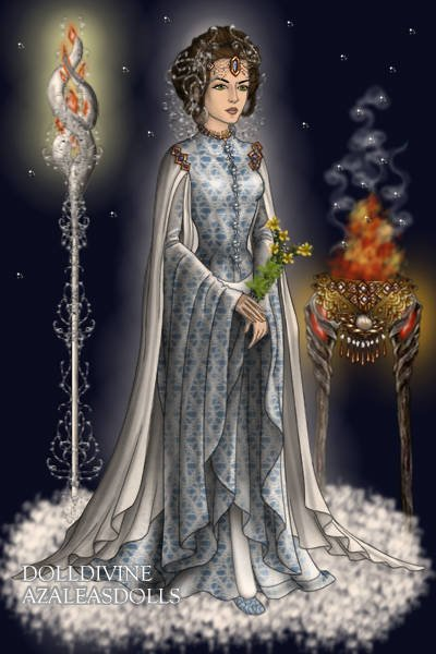Hestia, goddess of the hearth-fire, the home and the family ~ by Kytheira  Hestia, goddess...