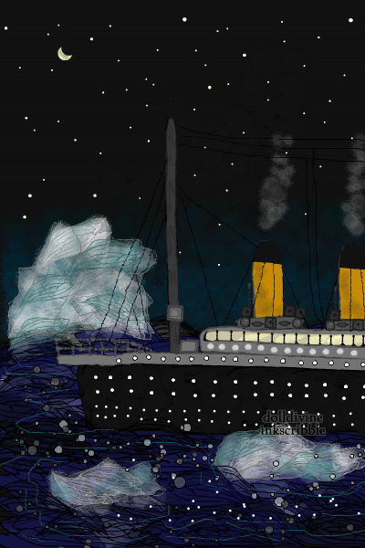 Under the stars ~ Titanic again, inspired by 2 songs from