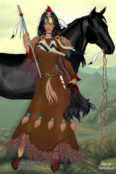 Native American WomenWarriors: The Other ~ Here she is: The Other Magpie, a Crow-wo