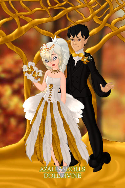 Gold and White Wedding ~