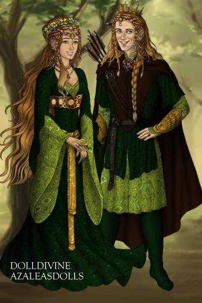 King and Queen of the Green Forest ~