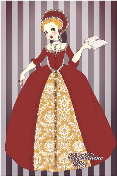Princess Elizabeth ~ based on William Scrots' portrait of you