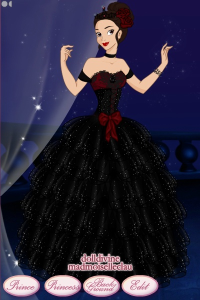 Me in a Ballgown ~ For a contest:) I would definatly wear t