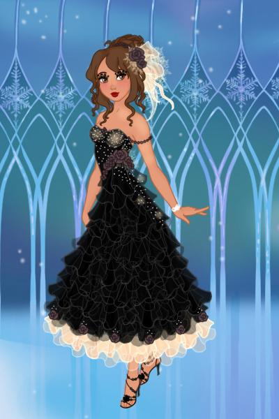 Me:) ~ Me for QueenGrania's birthday ball:) Hap