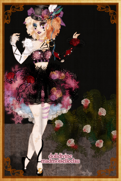 We\'re All Mad Here ~ Alice in Wonderland themed Ballerina :D