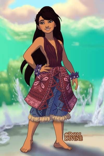 princess janice polynesian princess by birdhousebirdy