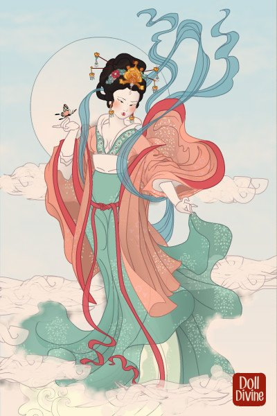 Chang\'e ~ Chang'e is the Chinese goddess of the Mo
