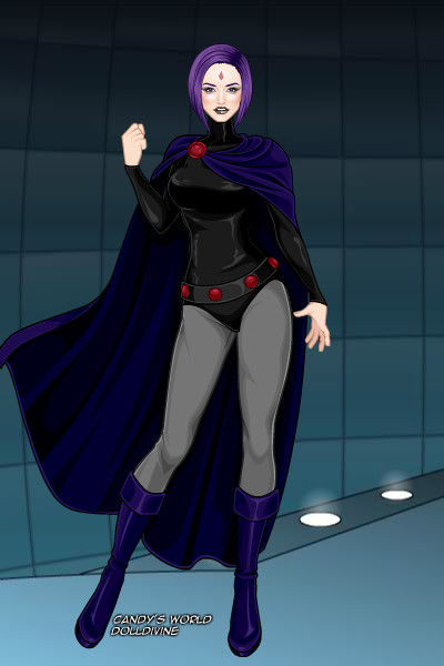 Raven Teen Titans Dress Up 108