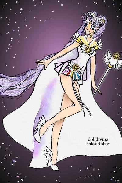 Sailor Cosmos ~ I grew up reading Sailor Moon in french