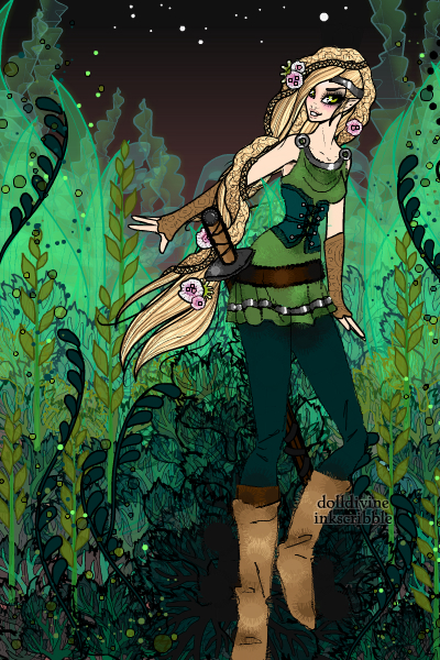 Forest elf ~ For CarolineElyse. Thank you for request
