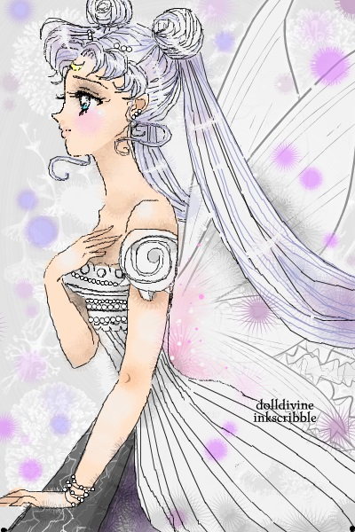 Princess Serenity just saw something she ~ For Peachmoonbunny. Thank you very much