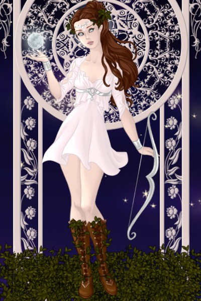 Artemis ~ The Greek goddess of the moon, chastity,