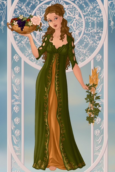 Demeter ~ Goddess of agriculture and the harvest.