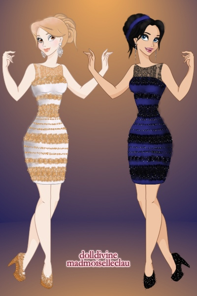 The Dress that Broke the Internet ~ For @ErugenEruanneth's contest, the dres