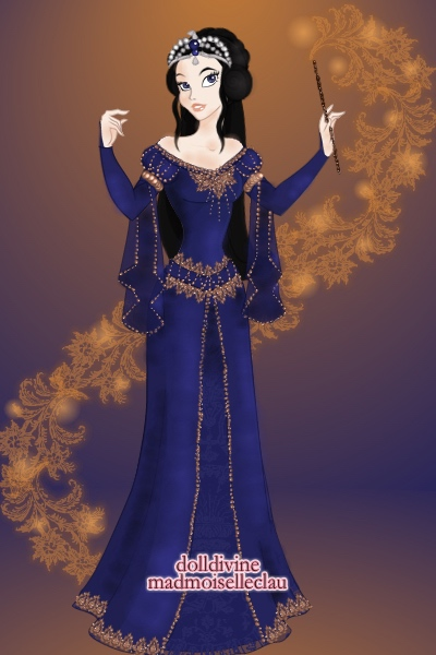 Rowena Ravenclaw ~ For the House Cup contest. The dress sty