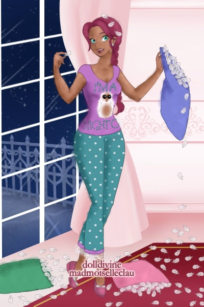 Slumber Party! Kaylee Daemon (fun pj\'s) ~ For my DDNTM second cycle spin-off 'Slum