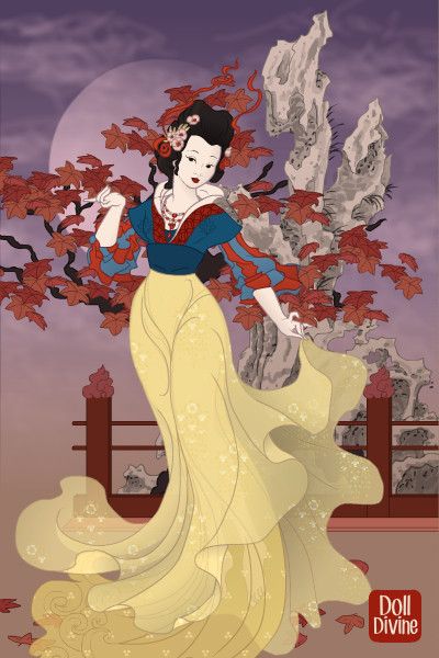 Chinese Snow White By Steerpike13713