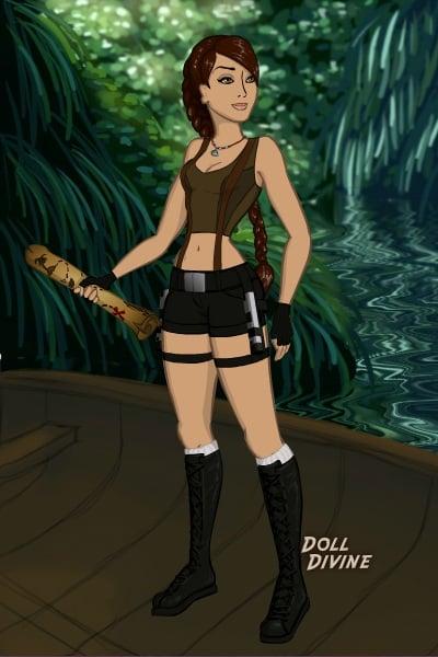 Lara Croft Tomb Raider By Ellishul