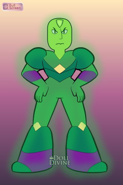 Kryptonite ~ AKA Lex Luthor's gemsona. XD I couldn't