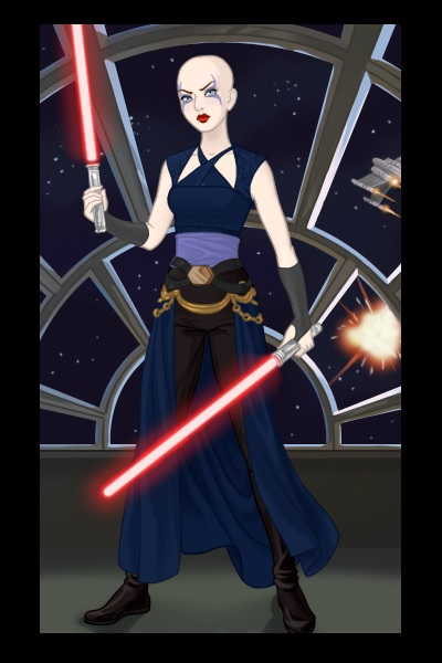 Asajj Ventress ~ My favorite Sith lady :) She's so gorgeo