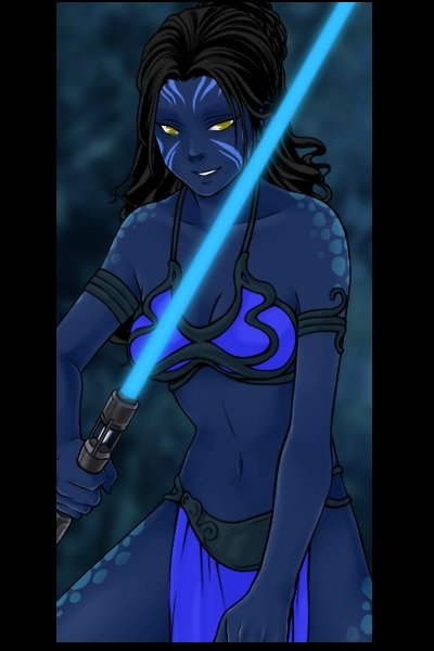 Na\'vi Jedi ~ Two of my favorite things combined!  :)