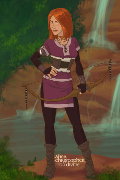 Rayne ~ A scout in the Queen's Army, Rayne is al