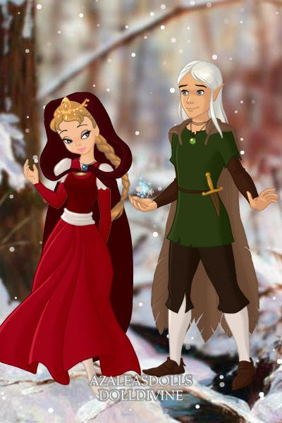 The Princess And The Elf Prince By Catmint131