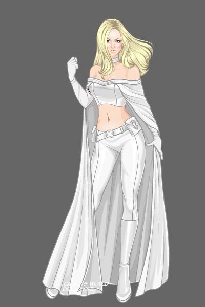 Emma Frost ~ by cutester159 X Men Girls Dress Up