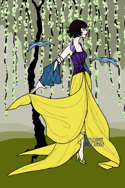 Art Deco Snow White ~