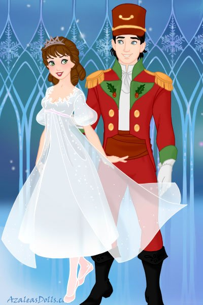 Clara & The Nutcracker Prince ~ From the Nutcracker ballet :)