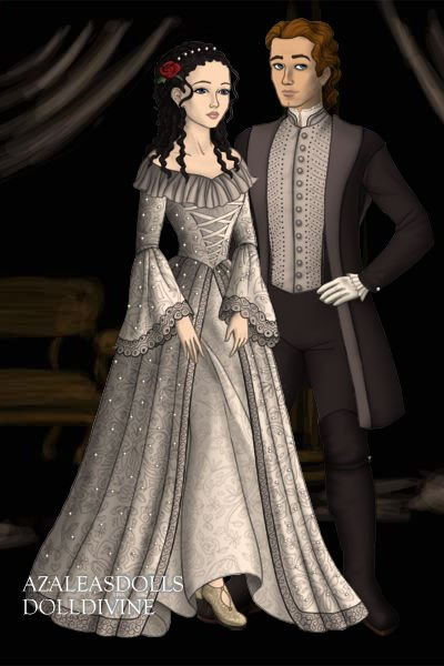 Christine Daae And Raoul De Chagny By Veronicastone