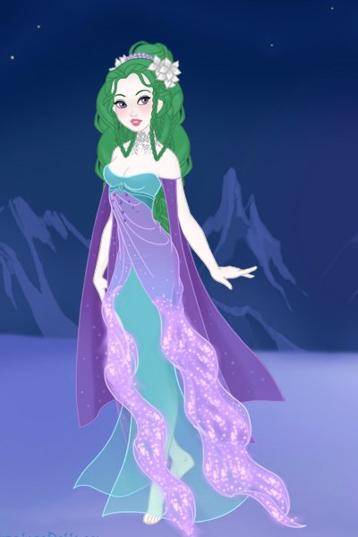 Ru\'qayyah on Ice Princess ~ I've wanted to make her on this maker fo