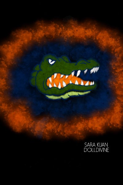 Go Gators! ~ I was thinkiing about my college days an