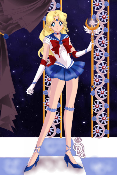 Sailor Guardian bluesmooth127 of the Dol ~ (I hope the colouration is OK.)