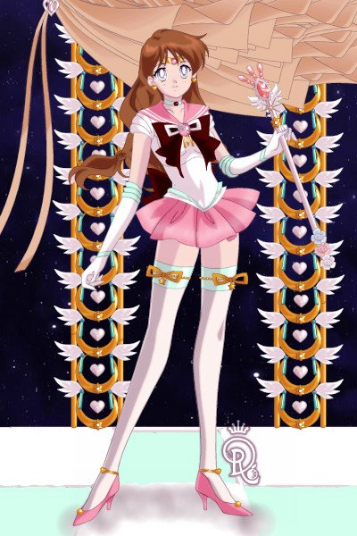 Sailor Guardian PinkRobin of the Doll Di ~ (A slightly over due 'welcome back' girt