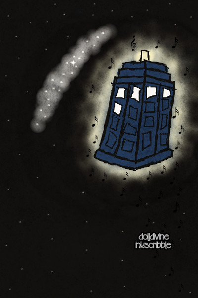 \The TARDIS flew back towards the Milky  ~ A quick doll. The quote is from the Doct