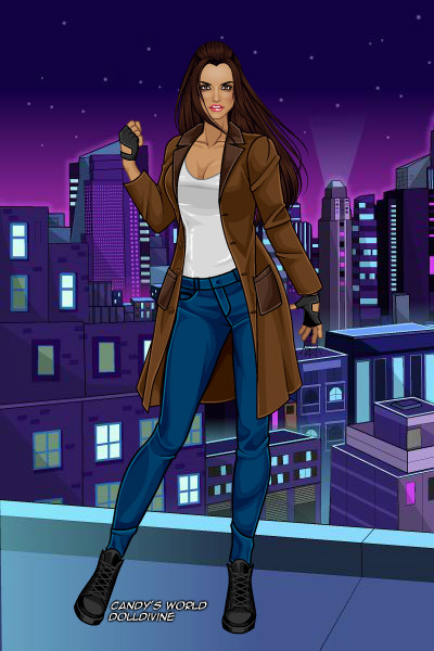 Jessica Jones ~ The comic book version anyway.