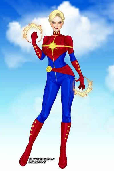 Captain Marvel ~ by MarvelGrrrl X Men Girls Dress Up